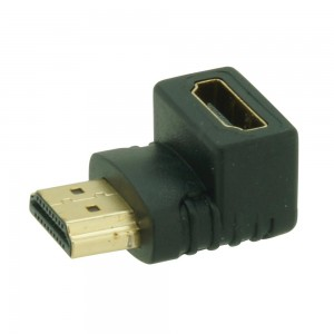 ADAPTER HDMI M-V HAAKS 90°