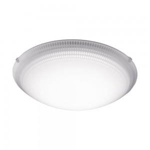 MAGITTA 1 WAND/PLAFOND STAAL WIT/HELDER 16W LED
