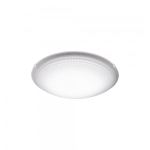 MAGITTA 1 WAND/PLAFOND STAAL WIT/HELDER 24W LED